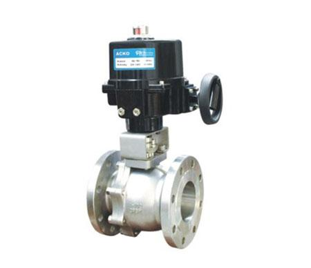 On Off  Modulating Electric Ball Valve ,    Motorised Ball Valve With Integrated Structure