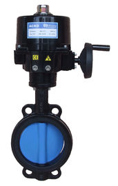 Electric Wafer Type Butterfly Valve Modulatig Torque 100Nm 120Vac  50/60 Hz