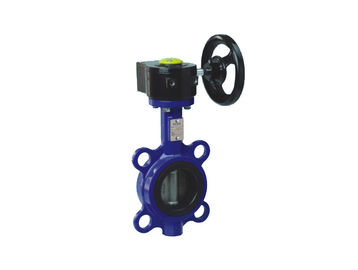 Worm Gear Operated  Wafer Lug Type Butterfly Valve  High Performence