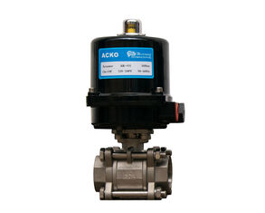Angular Travel Electric Ball Valve  ,Control Style On Off Or Modulating Motor Actuated Ball Valve
