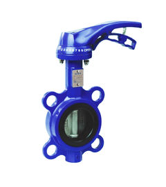 Ductile Lron / Stainless Steel 316L  Wafer Type Butterfly Valve  DN40-DN150  Lug Type