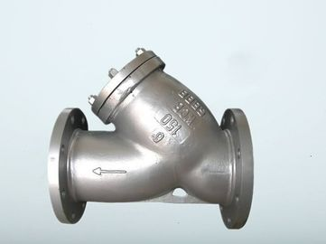 China American Standard Y Type Filter ,  Cast Iron  / Stainless Steel Wye Strainer supplier