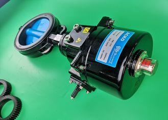 High Pressure Solenoid Electrically Operated Butterfly Valve Air Flow Control