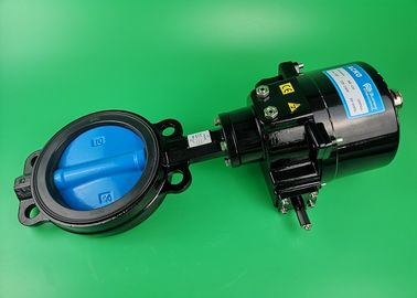 Flow Control Electric Butterfly Valve , Industrial Butterfly Valve Motorized