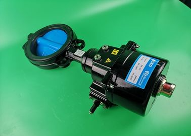 Electric Actuated Butterfly Valve High Temperature Actuator Operated Wide Size