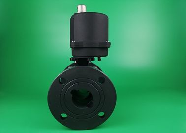 High Pressure Electric Ball Valve Sanitary On Off Modulating Motor Actuated