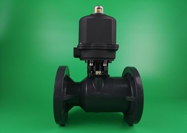 Sewage 304 Electric Ball Valve , Pneumatic Plumbing Plastic Ball Valve