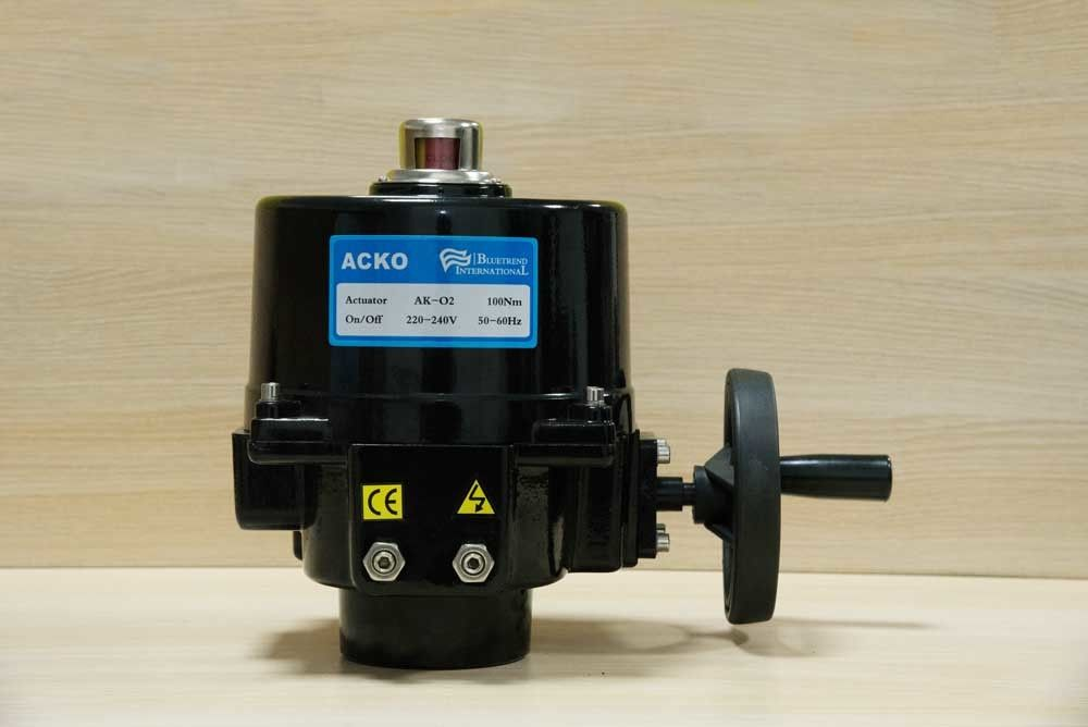 220Vac Electromagnetic Motorised Valve Actuator 15W , Heavy